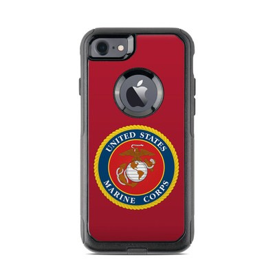 OtterBox Commuter iPhone 7 Case Skin - USMC Red
