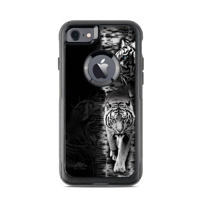 OtterBox Commuter iPhone 7 Case Skin - White Tiger