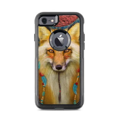 OtterBox Commuter iPhone 7 Case Skin - Wise Fox
