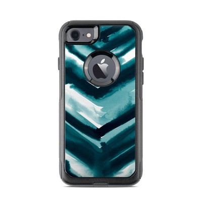 OtterBox Commuter iPhone 7 Case Skin - Watercolor Chevron