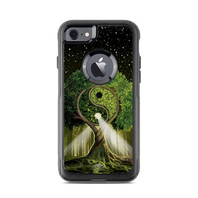 OtterBox Commuter iPhone 7 Case Skin - Yin Yang Tree