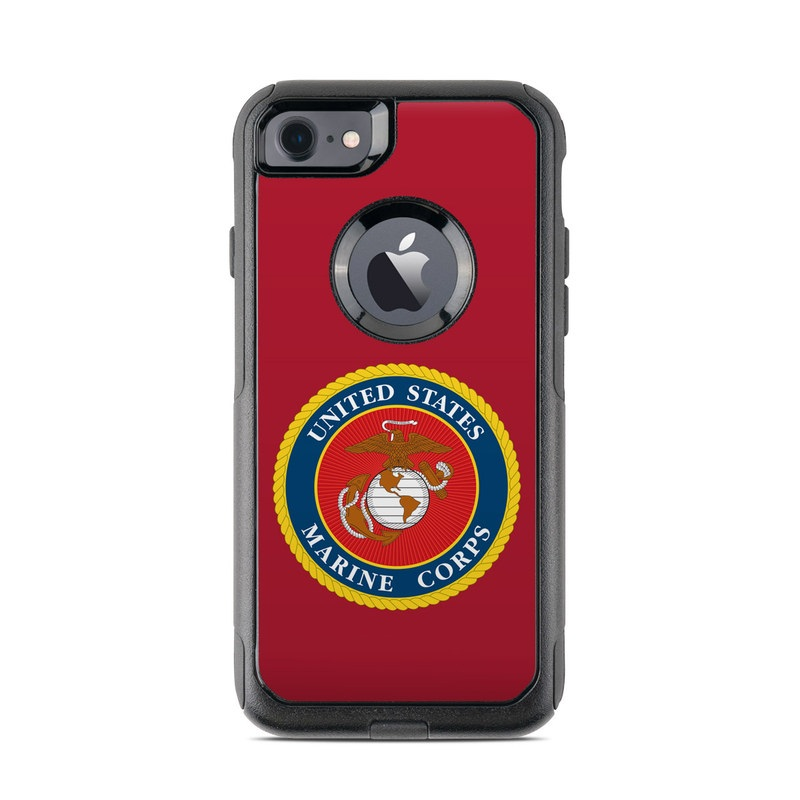 buy popular 1ddc5 f09a9 OtterBox Commuter iPhone 7 Case Skin - USMC Red