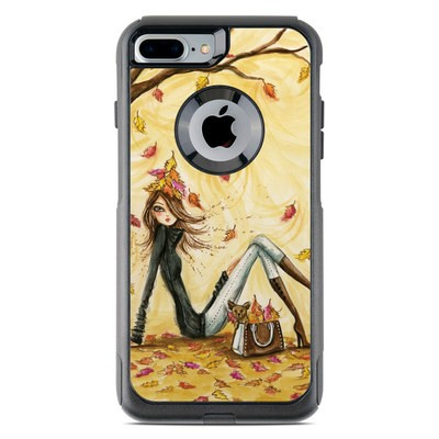 OtterBox Commuter iPhone 7 Plus Case Skin - Autumn Leaves