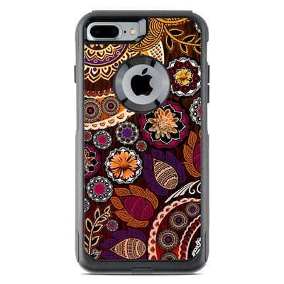 OtterBox Commuter iPhone 7 Plus Case Skin - Autumn Mehndi