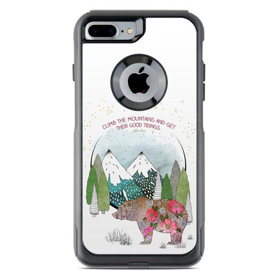 OtterBox Commuter iPhone 7 Plus Case Skin - Bear Mountain