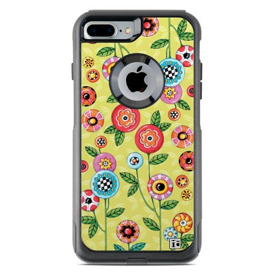 OtterBox Commuter iPhone 7 Plus Case Skin - Button Flowers