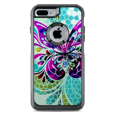 OtterBox Commuter iPhone 7 Plus Case Skin - Butterfly Glass