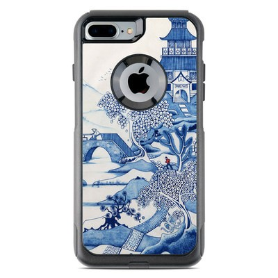 OtterBox Commuter iPhone 7 Plus Case Skin - Blue Willow