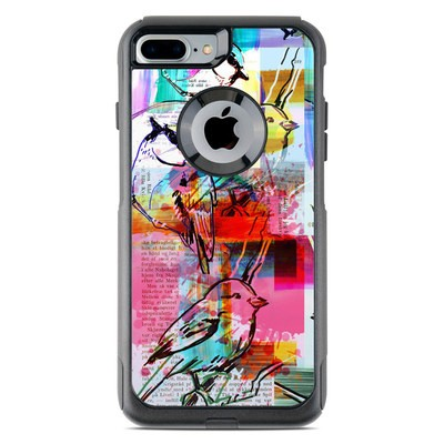 OtterBox Commuter iPhone 7 Plus Case Skin - Book Birds