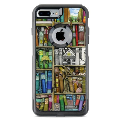 OtterBox Commuter iPhone 7 Plus Case Skin - Bookshelf