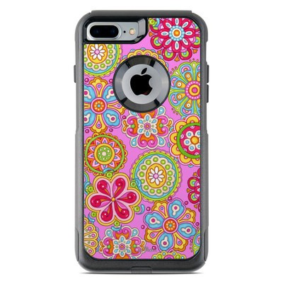 OtterBox Commuter iPhone 7 Plus Case Skin - Bright Flowers