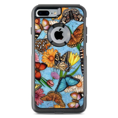 OtterBox Commuter iPhone 7 Plus Case Skin - Butterfly Land