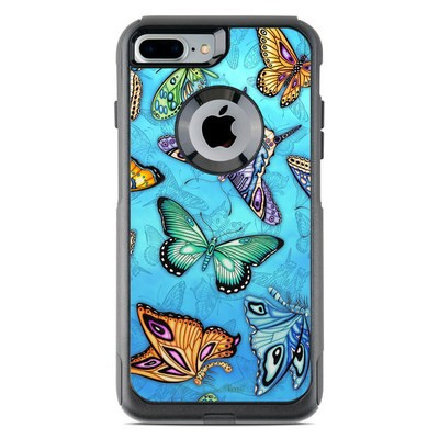 OtterBox Commuter iPhone 7 Plus Case Skin - Butterflies