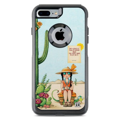 OtterBox Commuter iPhone 7 Plus Case Skin - Cactus