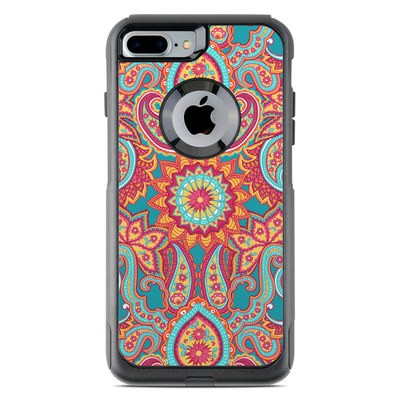 OtterBox Commuter iPhone 7 Plus Case Skin - Carnival Paisley