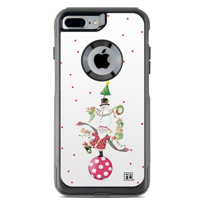OtterBox Commuter iPhone 7 Plus Case Skin - Christmas Circus