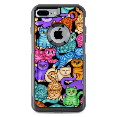 OtterBox Commuter iPhone 7 Plus Case Skin - Colorful Kittens