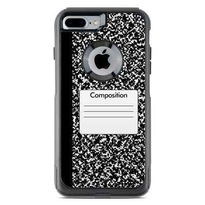 OtterBox Commuter iPhone 7 Plus Case Skin - Composition Notebook