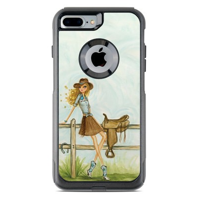 OtterBox Commuter iPhone 7 Plus Case Skin - Cowgirl Glam