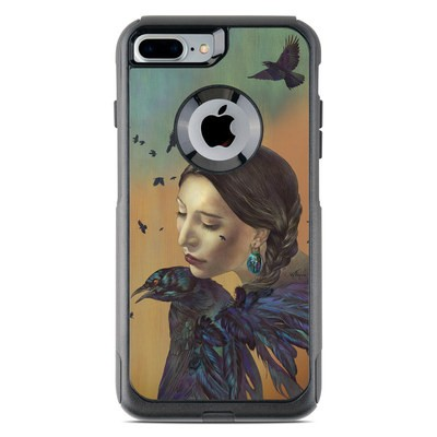 OtterBox Commuter iPhone 7 Plus Case Skin - Crow Maiden