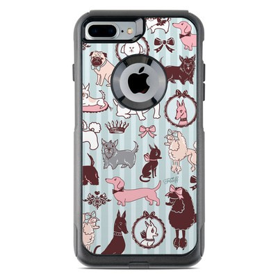 OtterBox Commuter iPhone 7 Plus Case Skin - Doggy Boudoir
