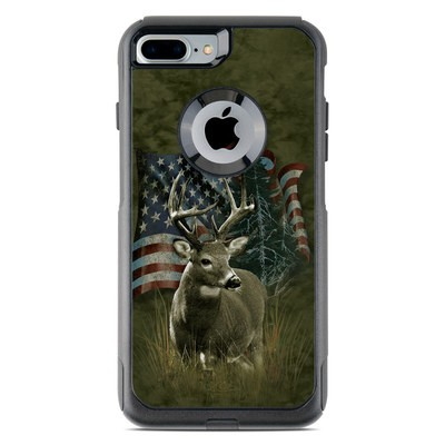 OtterBox Commuter iPhone 7 Plus Case Skin - Deer Flag