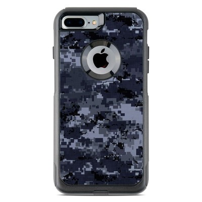 OtterBox Commuter iPhone 7 Plus Case Skin - Digital Navy Camo
