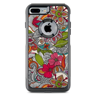 OtterBox Commuter iPhone 7 Plus Case Skin - Doodles Color