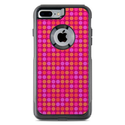 OtterBox Commuter iPhone 7 Plus Case Skin - Dots Pink