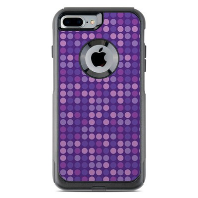 OtterBox Commuter iPhone 7 Plus Case Skin - Dots Purple