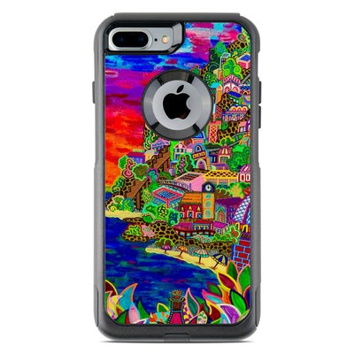 OtterBox Commuter iPhone 7 Plus Case Skin - Dreaming In Italian