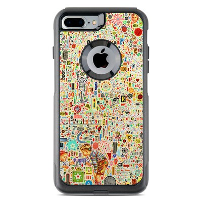 OtterBox Commuter iPhone 7 Plus Case Skin - Effloresce