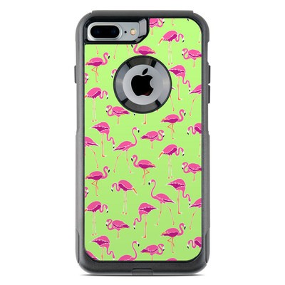 OtterBox Commuter iPhone 7 Plus Case Skin - Flamingo Day