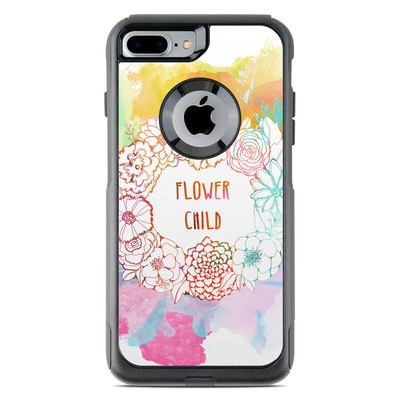 OtterBox Commuter iPhone 7 Plus Case Skin - Flower Child