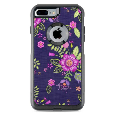 OtterBox Commuter iPhone 7 Plus Case Skin - Folk Floral