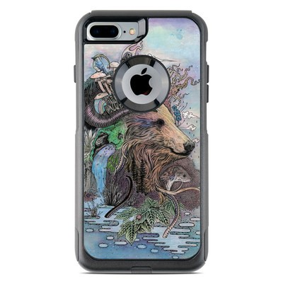 OtterBox Commuter iPhone 7 Plus Case Skin - Forest Warden