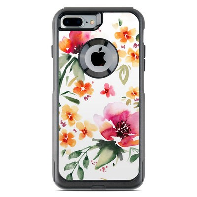 OtterBox Commuter iPhone 7 Plus Case Skin - Fresh Flowers
