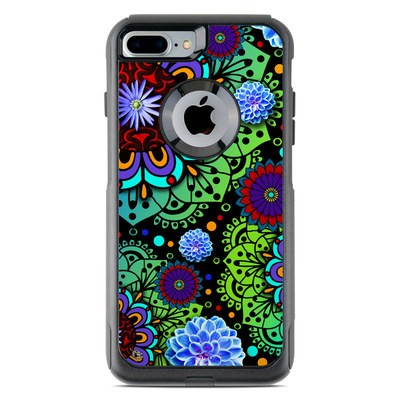 OtterBox Commuter iPhone 7 Plus Case Skin - Funky Floratopia