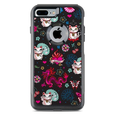 OtterBox Commuter iPhone 7 Plus Case Skin - Geisha Kitty