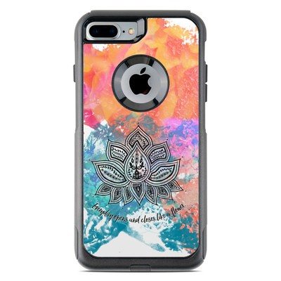 OtterBox Commuter iPhone 7 Plus Case Skin - Happy Lotus