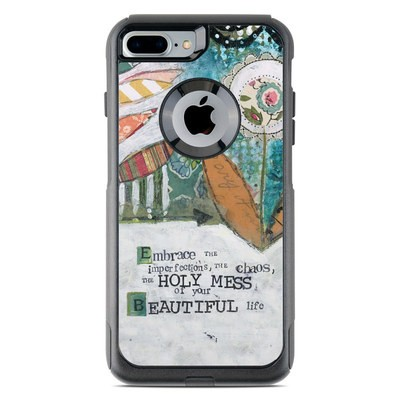 OtterBox Commuter iPhone 7 Plus Case Skin - Holy Mess
