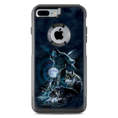 OtterBox Commuter iPhone 7 Plus Case Skin - Howling