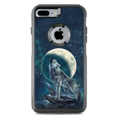 OtterBox Commuter iPhone 7 Plus Case Skin - Howling Moon Soloist