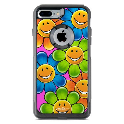 OtterBox Commuter iPhone 7 Plus Case Skin - Happy Daisies