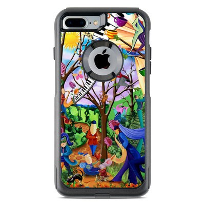 OtterBox Commuter iPhone 7 Plus Case Skin - Happy Town Celebration