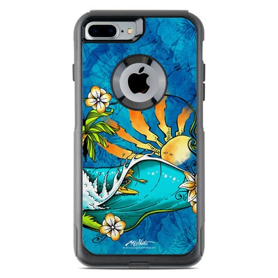 OtterBox Commuter iPhone 7 Plus Case Skin - Island Playground