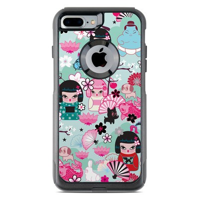 OtterBox Commuter iPhone 7 Plus Case Skin - Kimono Cuties
