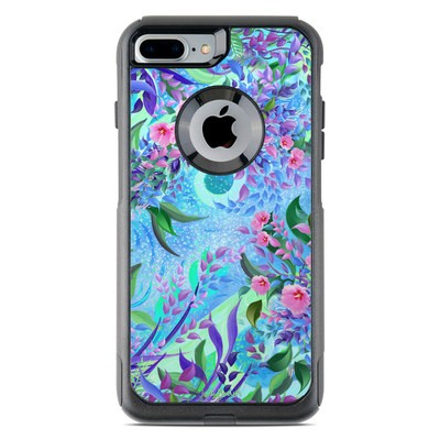 OtterBox Commuter iPhone 7 Plus Case Skin - Lavender Flowers