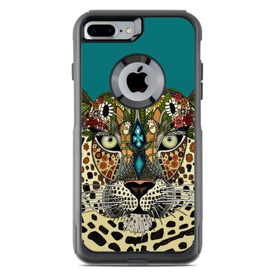 OtterBox Commuter iPhone 7 Plus Case Skin - Leopard Queen