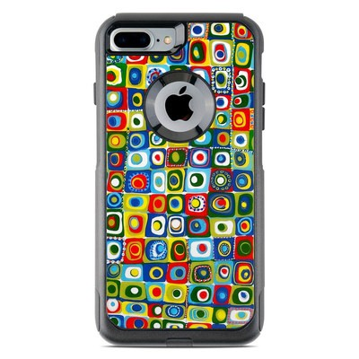 OtterBox Commuter iPhone 7 Plus Case Skin - Line Dancing
